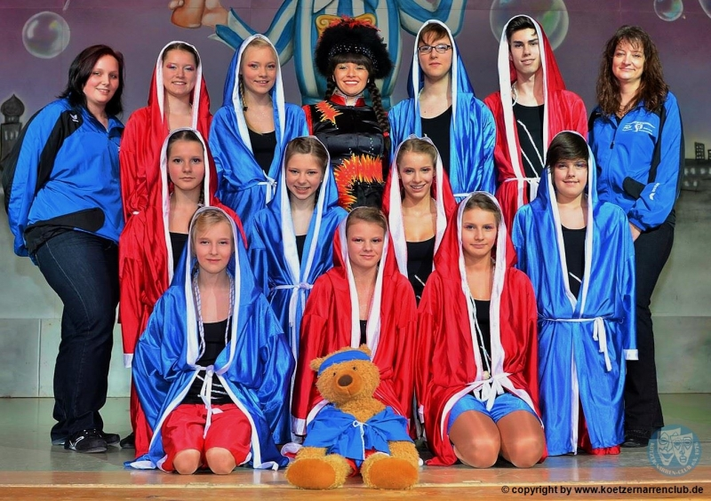 Teenagershowtanzgruppe 2014